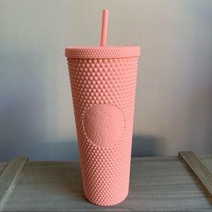Starbucks light pink studded tumbler spring 2020